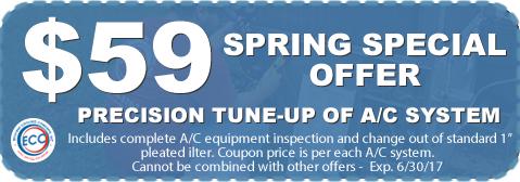Spring HVAC special