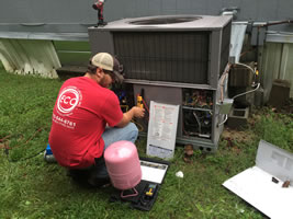 residential AC unit repair